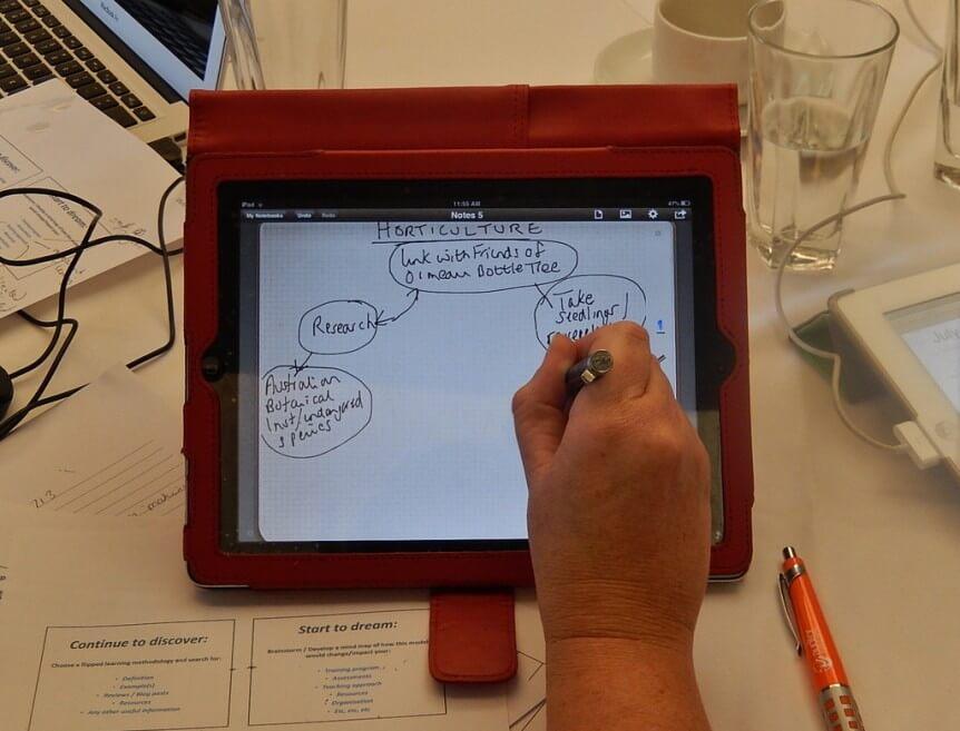 Mind-Map-on-iPad