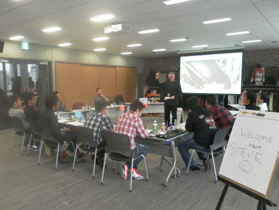Japan Head Office Workshop